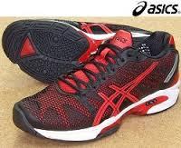 テニスシューズ、アシックスゲルソリューションスピード2を使用した感想と評価