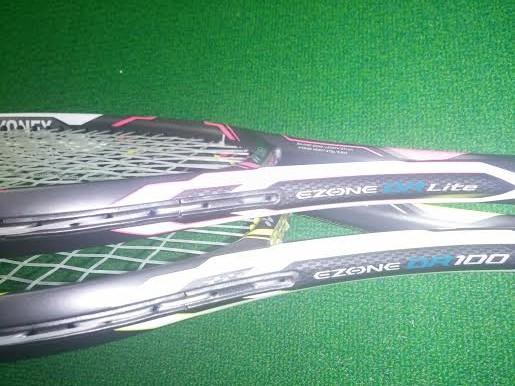 YONEXヨネックステニスラケット、EゾーンDR100とEゾーンDRライトの感想と評価