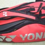 ヨネックス6本入りラケットバッグ(ツアーバッグ)が便利すぎ!使用感をレビューします